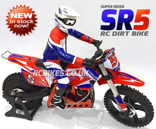 Super Rider Sr5 Rc Dirt Bike Rc Bikes Uk 1 4 Scale Rc